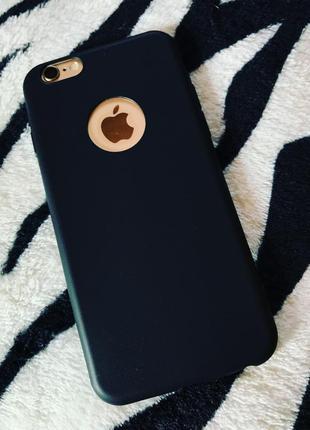 Новый классный матовый черный чехол iphone 6 iphone 6s