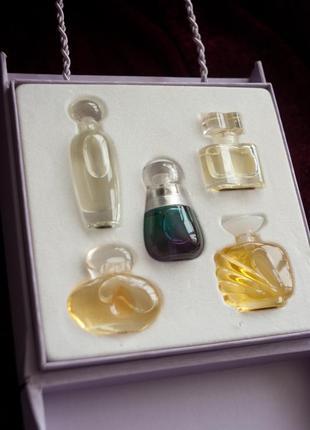 Набор винтажных парфюмов, духи - миниатюры от estee lauder, эксклюзив, оригинал