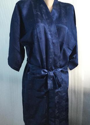 Длинный  халат  oriental китайский стиль 36-44