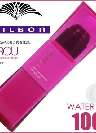 Японский! укрепляющий гель-эссенция milbon deesse's aprou water gel leave-in treatment