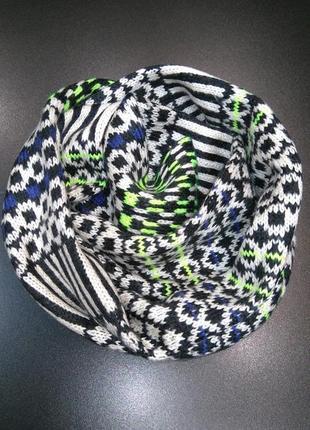 Люксовый шарф палантин ирландского бренда cedar wood state! унисекс! 166х26 см.!