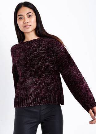 Новый велюровый свитер george