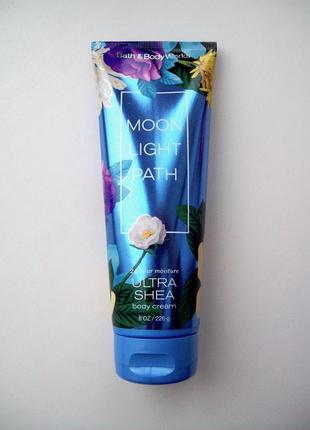Крем для тела bath and body works ultra shea body cream moonlight path