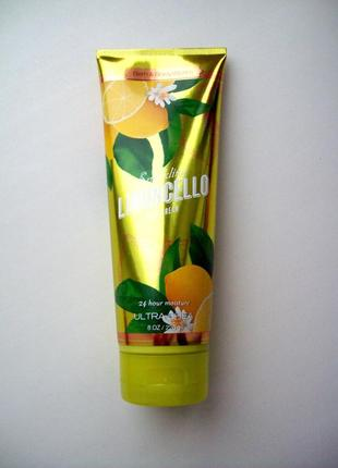 Крем для тела bath and body works ultra shea body cream sparkling limoncello