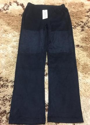 Нереально красивые флюсовый французские штаны sarah john