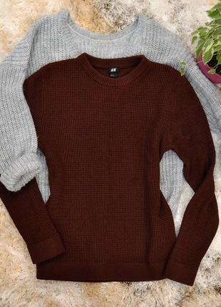 Теплый, стильный, новый свитерок