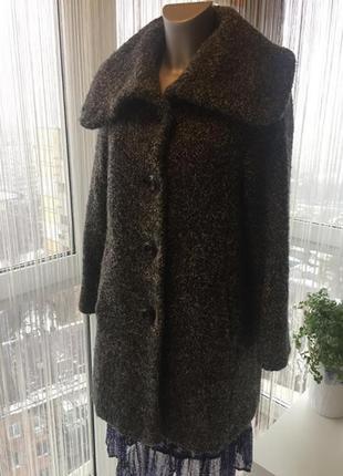 Пальто бойфренд monsoon шерсть букле