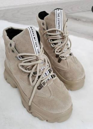 Ботинки best, тимберленды, зимнее ботинки.