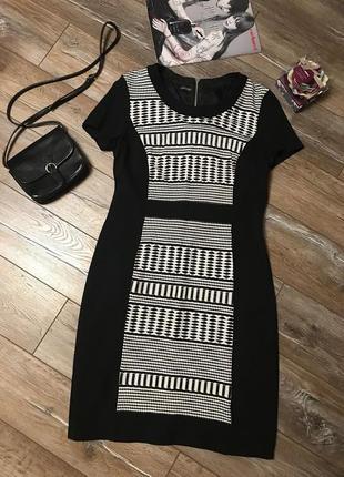 Черное шикарное платье