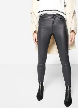 Кожаные штаны под кожу h&m
