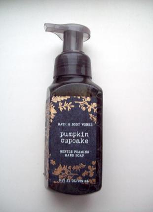 Нежнейшее мыло пенка для рук bath & body works gentle foaming hand soap pumpkin cupcake