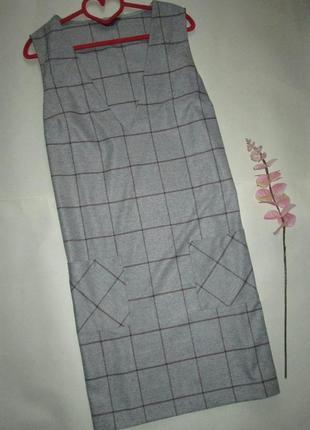 Стильний сарафан з карманами