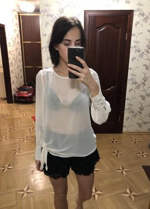 Прозрачная блуза new look