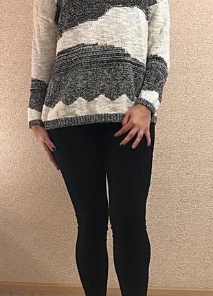 Шикарный свитер джемпер oversize