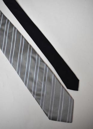 Vip галстук полоска tommy hilfiger, оригинал, шелк, безупречное качество. новый