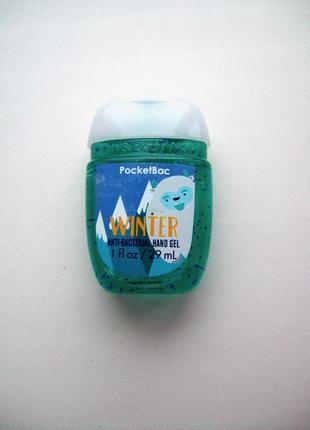 Антисептик для рук санитайзер bath and body works winter