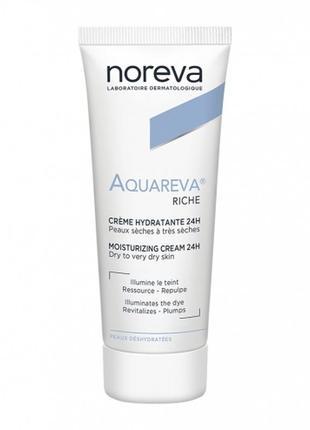 Франция. aquareva-увлажняющий крем для сухой и нормальной обезвоженной кожи