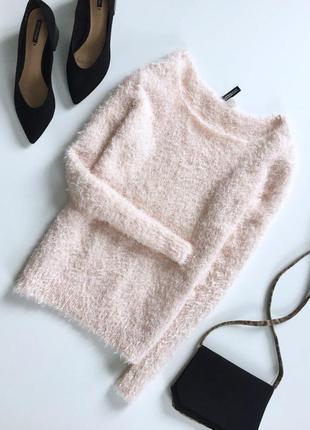 Милый мягкий свитер травка с длинным рукавом от h&m