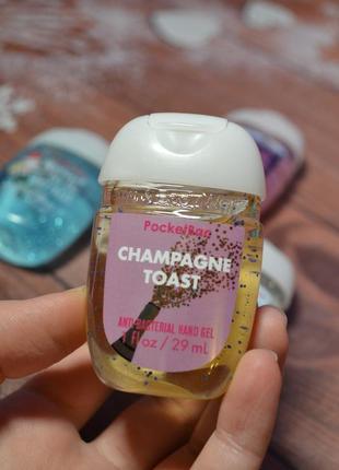 "Антибактериальный гель для рук ""champagne toast"" санитайзер bath and body works"