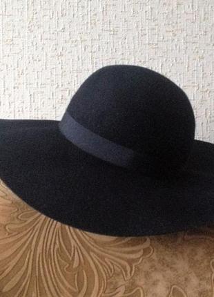 Широкоплий капелюх accessorize, 100% вовна, ог 56см
