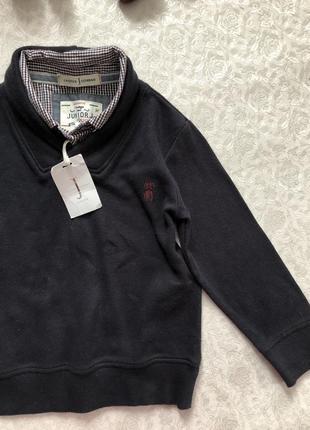 Джемпер с рубашкой на мальчика 3- 4 года jasper conran