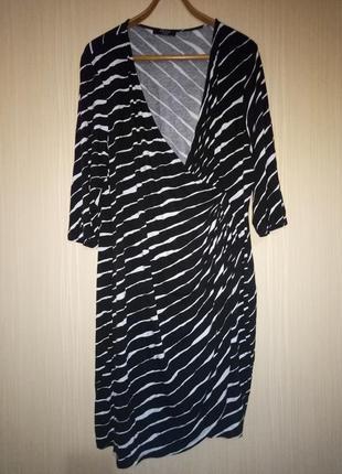 Красивое платье миди 58 размера