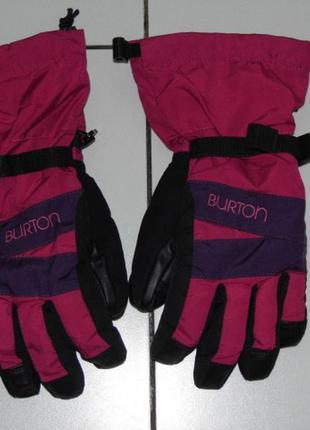 Перчатки сноубордические - детские - burton dry ride - m - сток!!!