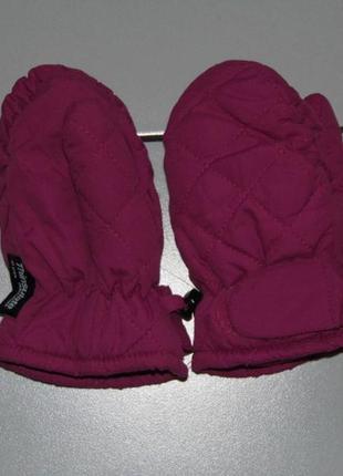 Краги девочке - 3-4 г. 98-104 - thinsulate- insulation