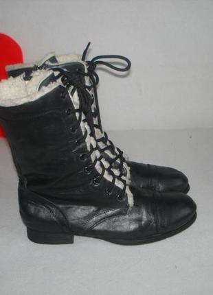 Полусапожки,высокие ботинки утепленные зимние бренд select