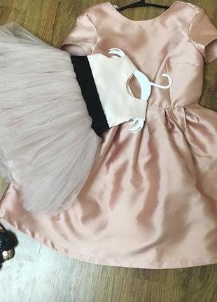 Family look   фемели лук мама дочка платье нарядное на годик пудра d062cdf0a78c0