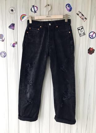 Бойфренд джинсы levis 501