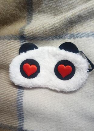 Милая маска для сна