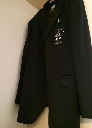 Новый пиджак брендовый next мужской