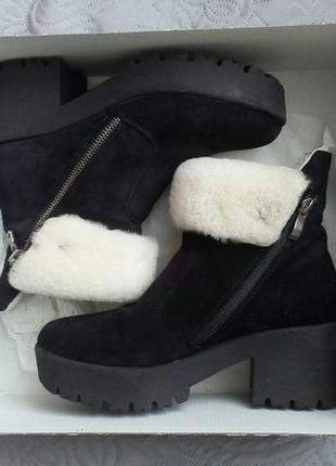 Чудесные зимние сапожечки, ботинки, 37 размер
