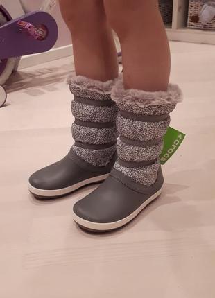 Women's crocband winter boot  by crocs4