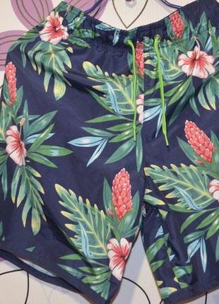 Новые летние мужские шорты h&m на рост 170 см на подростка