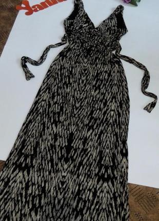 Платье длинное  48 50 размер бюстье сарафан топ лук скидка распродажа