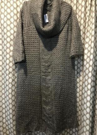 Теплое платье туника tu12/14р акрил, шерсть!
