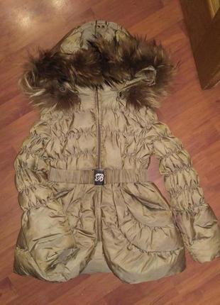 Курточка - пуховик 7лет