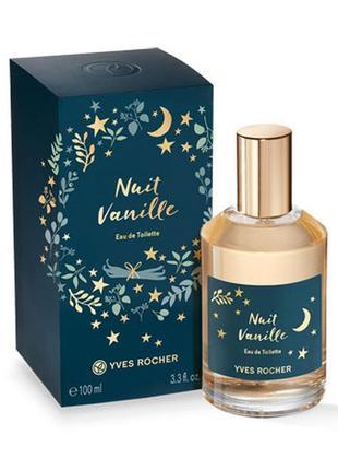 Новый парфюм ив роше vanille nuit 100ml