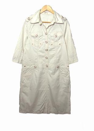 Стильное платье-рубашка  стиле сasual от blendshe