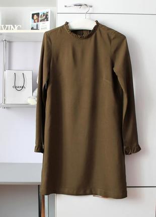 Платье с оборками (можно беременной)