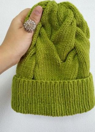 Зеленые женские шапки бини 2019 - купить недорого вещи в интернет ... 18cfd5c3c67be