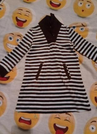 Велюровое платье туника  gymboree