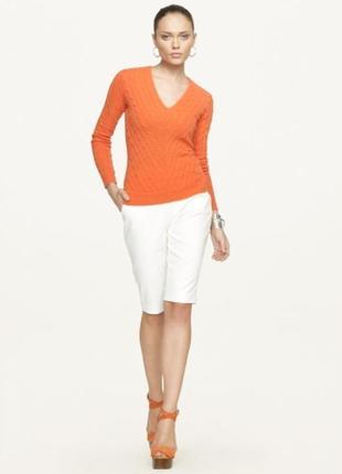 Фирменный мандариновый свитерок ralph lauren размер s