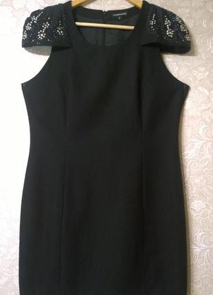 Эффектное нарядное шерстяное платье warehouse 194fdd7af9428