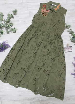 Красивое итальянское платьице sfizio размер s