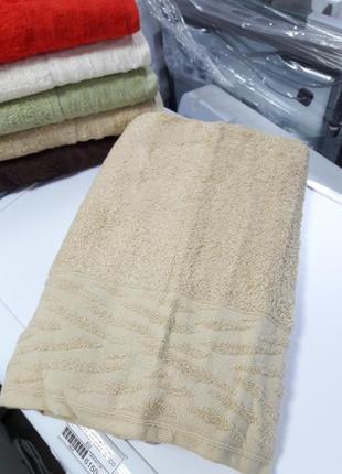 Плотное банное полотенце турция хлопок 140×70см ae cotton