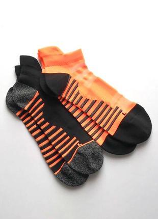 Мужские спортивные короткие беговые носки, англия. 41-44