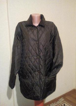 Утепленная стеганая курточка пог 62